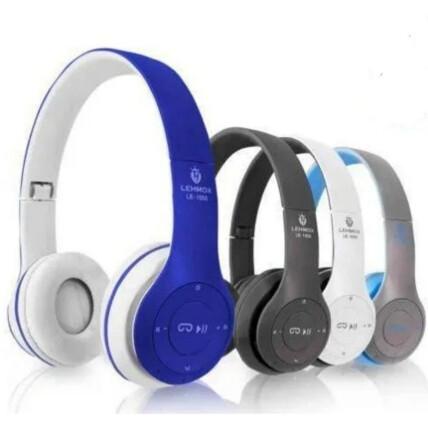 Headphone Bluetooth Dobrável Wireless Lehmox - LEF-1000