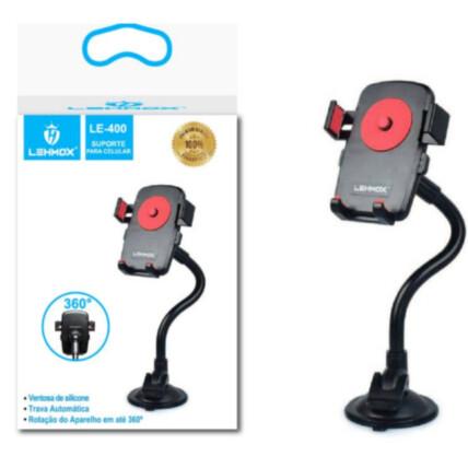 Suporte Veicular Universal Artculado para Smartphones - LE-400