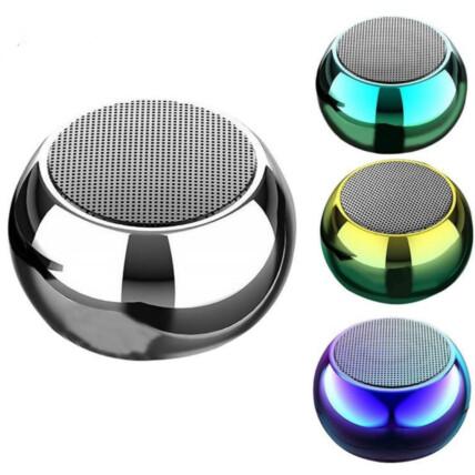 Mini Caixa de Som Bluetooth 3W Colorida com Alça - LES-M3XC