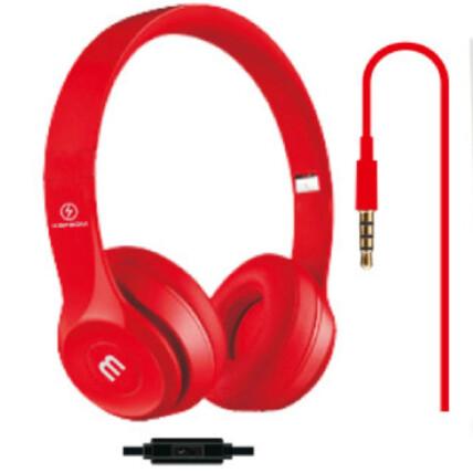 Headphone dobrável com Microfone conexão P2 - KA-866