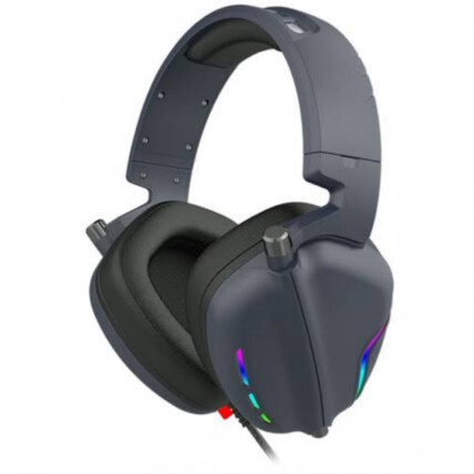 Fone Headset Gamer Usb com Microfone e Led RGB Lehmox - GT-F17