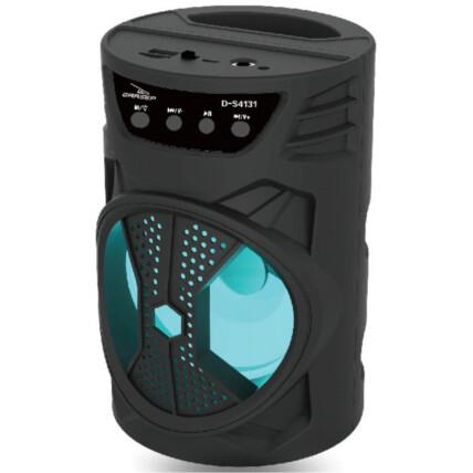 Caixa de Som Bluetooth Usb Portátil 19x12x12cm Grasep - D-S4131
