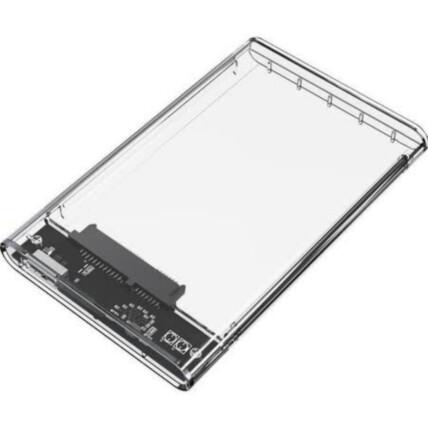 Case Para HD 2,5 Polegadas Usb 2.0 Transparente - BM758
