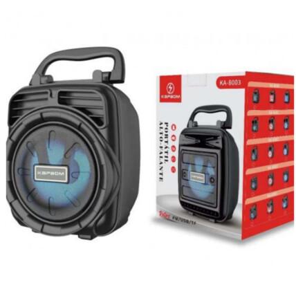Caixa De Som Bluetooth Portátil Usb/TF/FM Kapbom - KA-8003