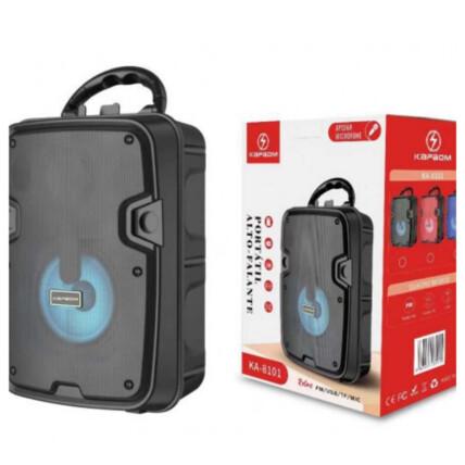 Caixa de Som Bluetooth Portátil 5W USB/TF/FM Kapbom - KA8101
