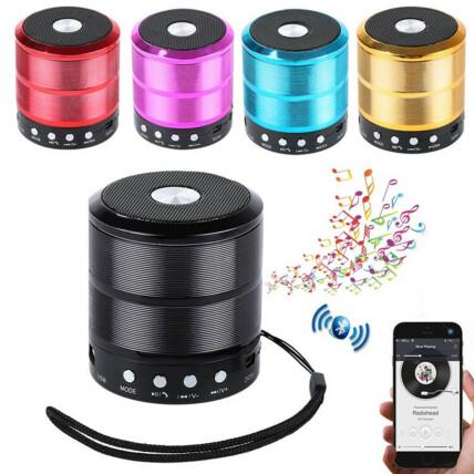 Mini Caixa De Som Bluetooth USB Portátil - LES-887