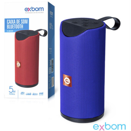 Caixa de Som Bluetooth Portátil Exbom - CS-M31BT