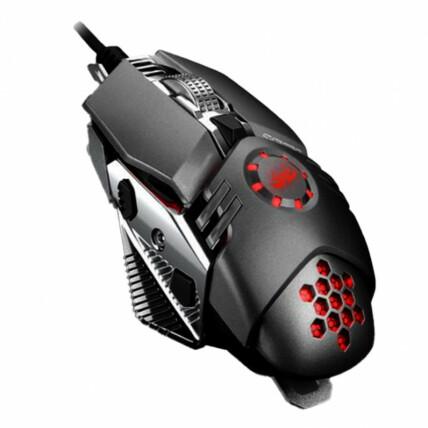 Mouse Gamer LED 6400DPI 6 Botões Knup - KP-V43