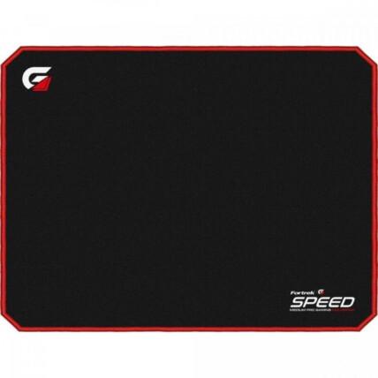 Mousepad Gamer Fortrek Speed Médio 320x240mm Vermelho - MPG101 VM