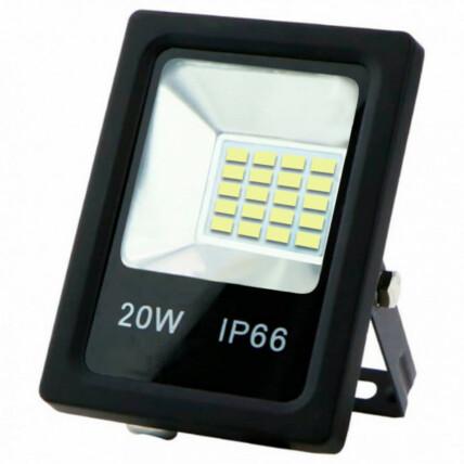 Refletor de Led Branco Frio SMD 20W 6500K Lux Power - TR-20WBF