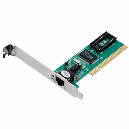 Placa de Rede Pci V2.2 32-bit 33mhz Conexão Rj45 Multilaser - Ga131