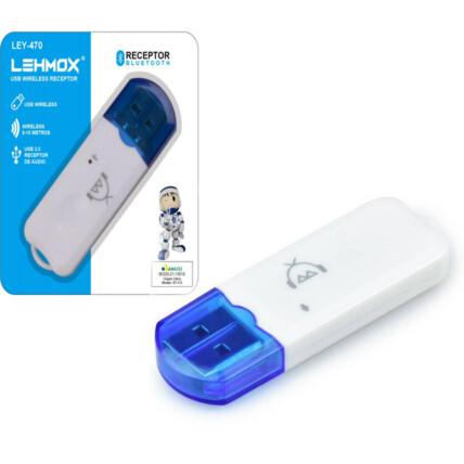 Adaptador Receptor Bluetooth Usb Dongle Receptor de Áudio - LEY-470