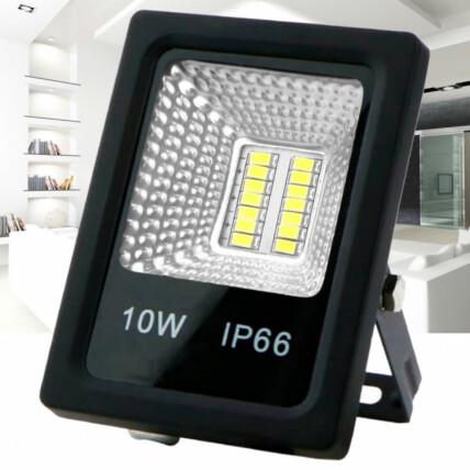 Refletor de Led Branco Frio SMD 10W 6500K Lux Power - TR-10WBF