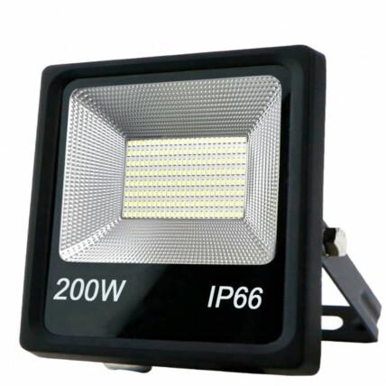 Refletor de Led Branco Frio SMD 200W 6500K Lux Power - TR-200WBF