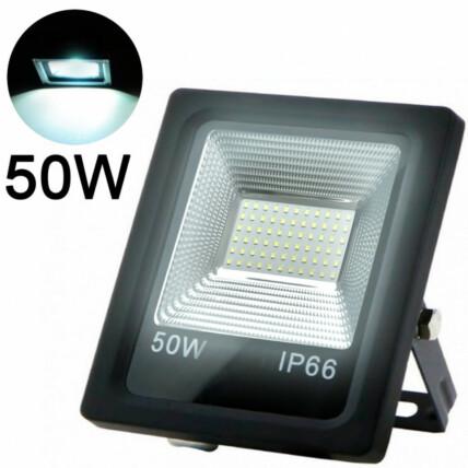 Refletor de Led Branco Frio SMD 50W 6500K Lux Power - TR-50WBF