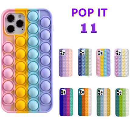 Capa para Iphone 11 Anti Stress Silicone Flexível Pop It - 11