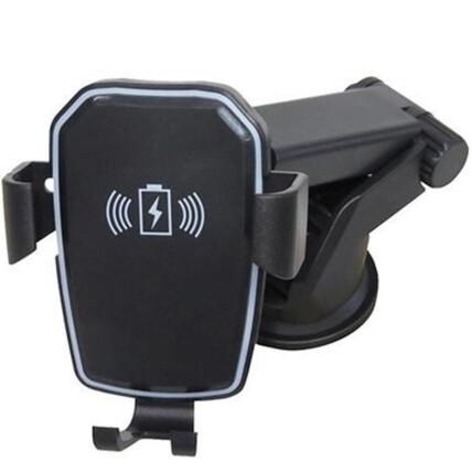 Suporte Veicular Com Transmissor Qi Sem Fio EXBOM - THT-K818