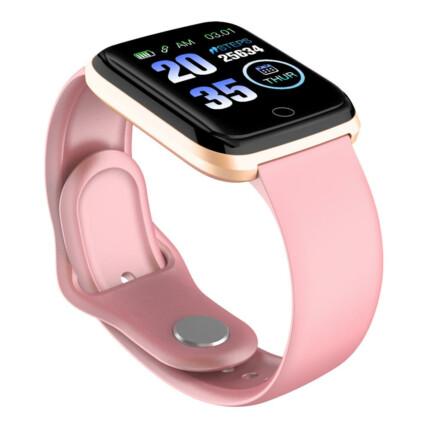 SmartWatch Pulseira Relógio Inteligente Fino com Monitor de Saúde e Esportes - GT103