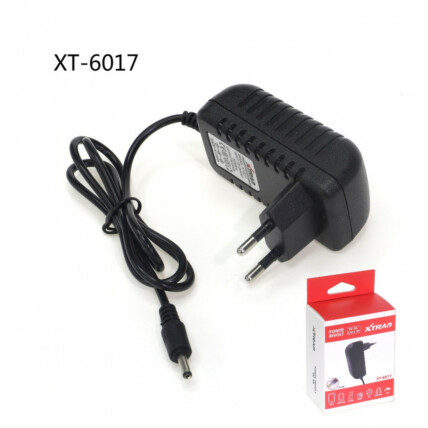 Fonte Bivolt Plug 3,5mm x 1,35mm 9V 3A Xtrad - XT-6017