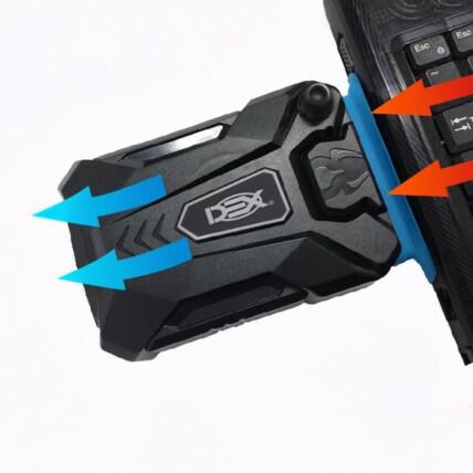 Cooler Exaustor Portátil Usb Para Notebook Dex - DX-1000